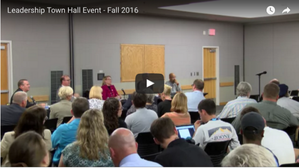 Fall 2016 Leadership Town Hall Event