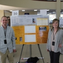 Philip Ashmore and Lauren Rogers were among Appalachian State University undergraduates presenting at the event.