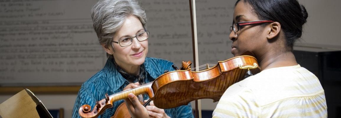 Violin private lesson